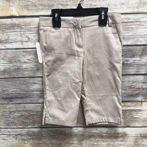 Izod uniform shorts 6 regular